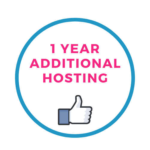1 years additional hosting